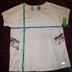 BOGO Athletic works pink shirt mesh back panel